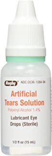 RUGBY LABORATORIES Artificial Tears Ophthalmic Solution, 0.5 Fluid Ounce