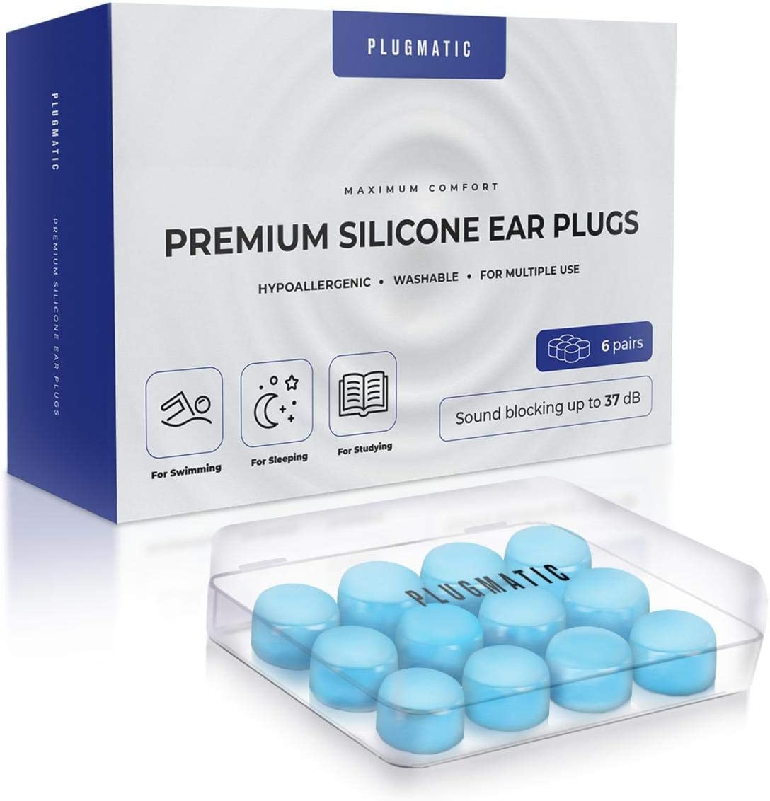 Ear Plugs for Sleeping Silicone So Moldable Cheap mail order sales Reusable 5% OFF Waterproof