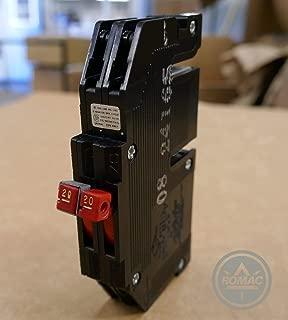 Connecticut Electric UBIZ2020 Twon 20 Amp Thin Series Zinsco R3820 Replacement,