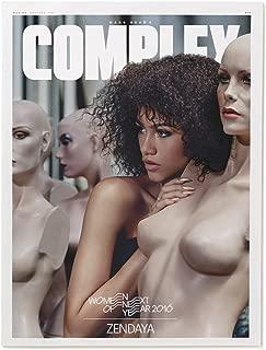 Complex Magazine (December 2015/January 2016) Travis Scott / Zendaya Cover