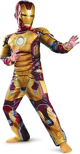más orden Marvel Avengers Iron Kids with Man mask costume boy 140-160cm 140-160cm 140-160cm 880608L  nueva gama alta exclusiva