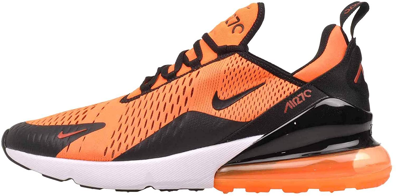 Nike Men's Air Max 270, Total orange Black-White, 12 M US