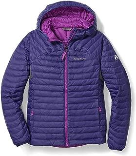 Eddie Bauer Girls' MicroTherm Hooded Jacket