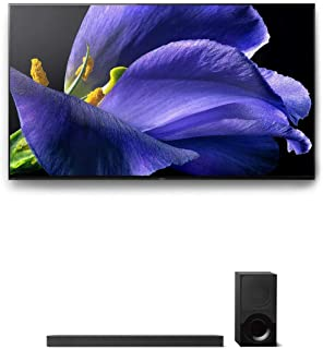 "Sony XBR-65A9G 65"" BRAVIA OLED 4K UHD HDR TV and HT-X9000F 2.1-Channel Dolby Atmos Soundbar with Subwoofer"