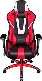 Renovatie huis Gaming stoel Racing stijl Ergonomisch hoog rugkussen Lendensteun 90 graden 180 graden Verstelbare kantelbar...