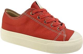 Tênis Casual Flatform Bebecê Bandana Red