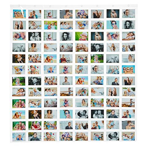 MIK Funshopping Kartenvorhang Fotovorhang On Display Collage für Bilder, Fotos und Postkarten, Querformat,...
