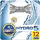 Wilkinson Sword FFP BOX Hydro 5 - Caja de 12 Recambios de Cuchillas de Afeitar de 5 Hojas ...