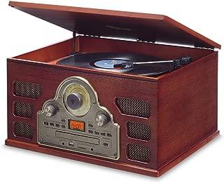 Vitrola com CD, FM, USB, SD, Bluetooth e NFC, Bivolt, Raveo, Tenor, 10