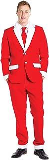Men's Christmas Suit Santa Blazer+Tie and Pants (Sold Separately)