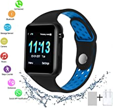 Smart Watch - SUNETLINK Bluetooth Smart Watch with Touch Screen, Android Watch Phone Fitness Tracker with SIM/SD Card Slot, Water Resistance Smart Watches for Women Men