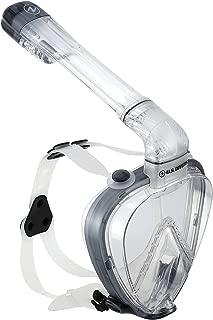 Aqua Lung Sport Scuba Snorkeling Dive Mask Dry Snorkel Set