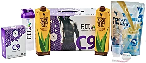 Forever Living Clean 9 (New C9) Detox Pack- Weight and Cleanse Programme