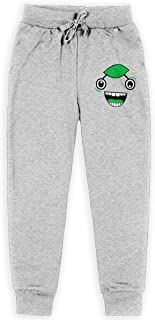 3DmaxTees Guava Juice Face Girls Autumn Winter Long Trousers Sports Sports Joggers Pants