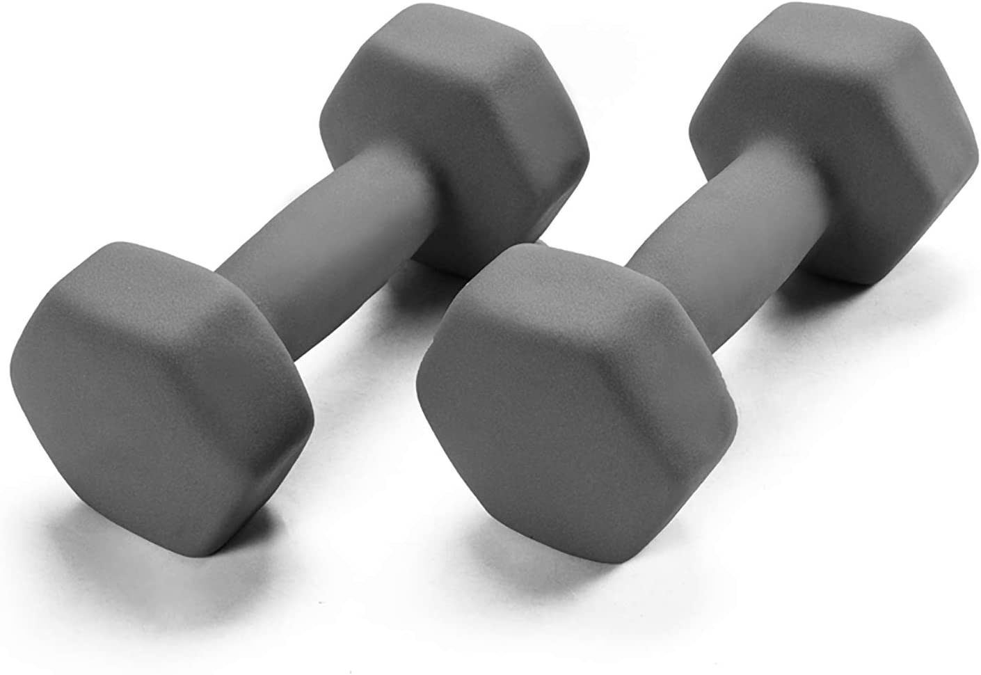 Portzon Set of Max 86% Shipping included OFF 2 Neoprene Anti-Slip Anti Hand Weights Dumbbell