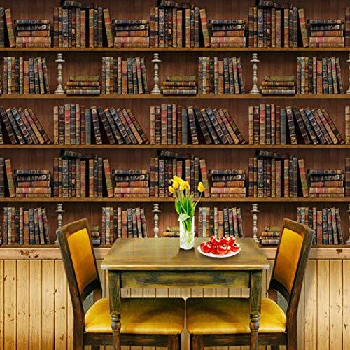 VIOYO Muursticker 3D Simulatie Kast Boeken Bibliotheek Behang Home Decor Sofa Tv Muur Kunst Mural Zelfklevende Dikke PVC Muursticker