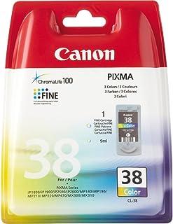 Canon Tintenpatrone CL 38 Farbtinte   C/M/Y 9 ml   Original für Tintenstrahldrucker