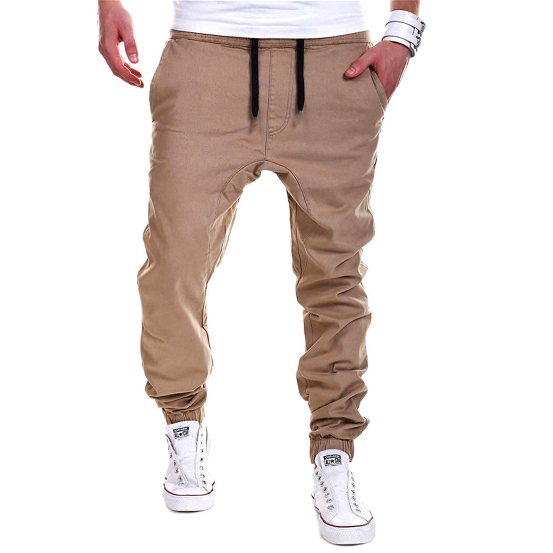 Indefinitely Men's shop Joggers Slim Fit Cotton Running Tr Pants Sports Sweatpants