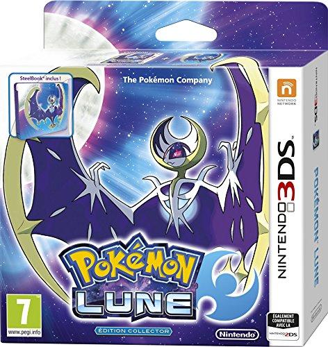 Nintendo Pokémon Lune Fan Edition, 3DS Steelbook Nintendo 3DS Inglés, Francés vídeo - Juego (3DS, Nintendo 3DS, RPG (juego de rol))