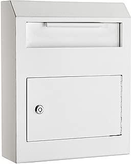 AdirOffice Heavy Duty Secured Safe Drop Box (White)