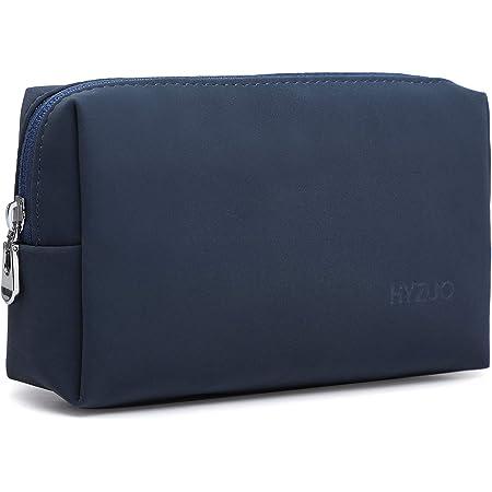 HYZUO Accesorio Portátil Bolsa de Almacenamiento para el Cargador del Ordenador Portátil Mouse Cables SSD HDD, Azul Marino