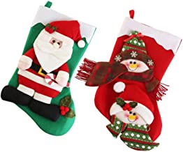 Christmas Stockings Personalized Christmas Stockings Cute Santa's Toys Kousen zcaqtajro