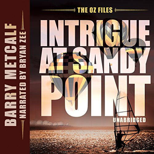 Intrigue at Sandy Point audiobook cover art