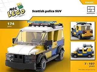 Scottish police SUV (Instruction Only): MOC LEGO