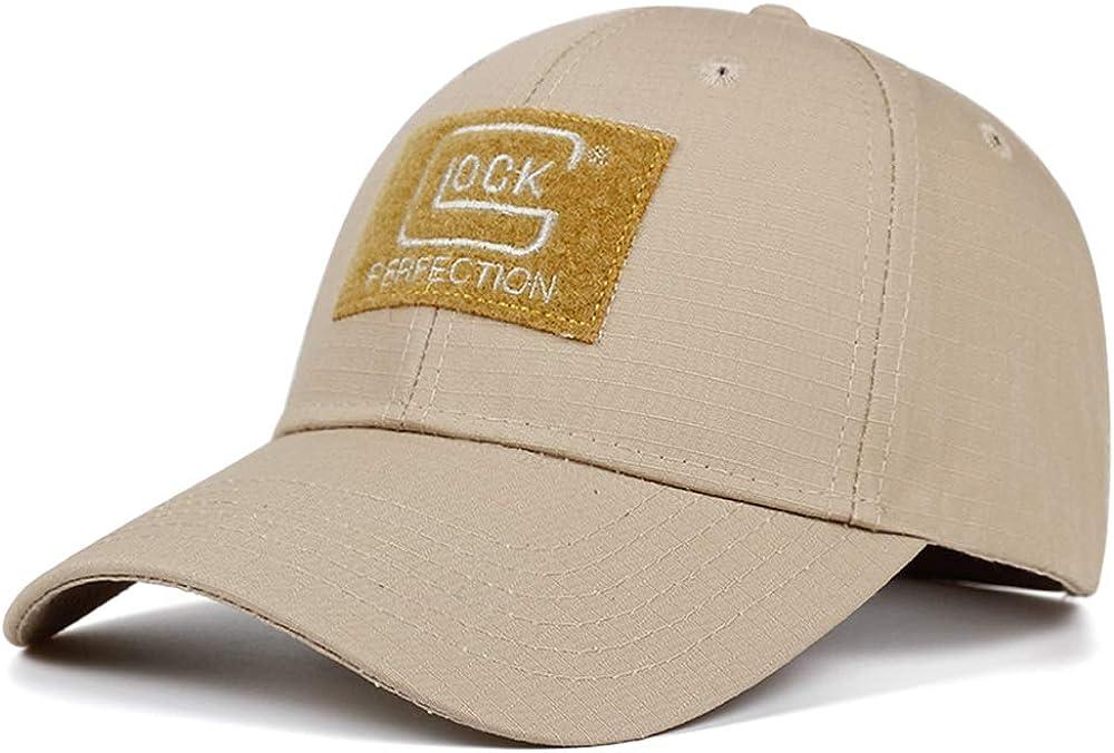 QOHNK Explosion Shooting Hunting Baseball Cap Fashion Cotton Outdoor Caps Leisure Sun Shade Hats Adjustable Golf Hat