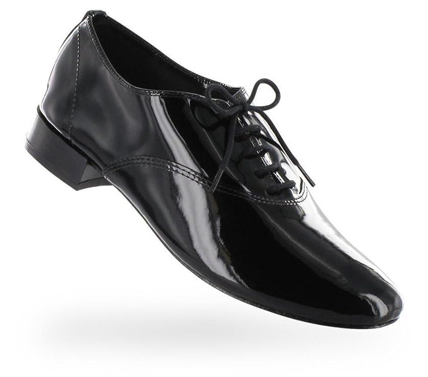 コレクション抗生物質無限大[レペット] Zizi Oxford Shoe ジジ レディース エナメルブラック 正規取扱店