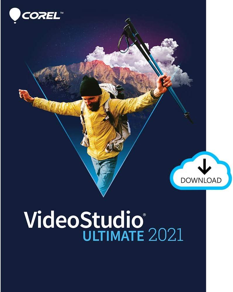 Corel VideoStudio Ultimate 2021   Video & Movie Editing Software   Slideshow Maker, Screen Recorder, DVD Burner [PC Download]