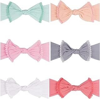 Baby Headbands Turban Knotted Girls Hairbands for Newborn Baby Toddler Children