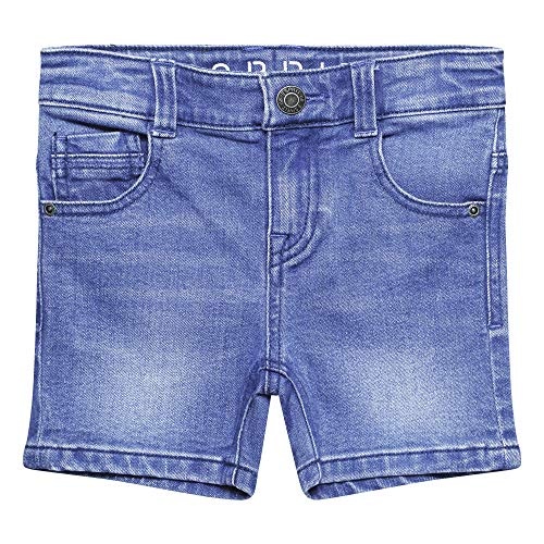 ESPRIT KIDS Jungen RQ2501402 Shorts, Blau (Bright Blue Denim 416), (Herstellergröße: 116)