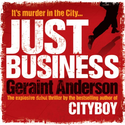 Just Business audiobook cover art