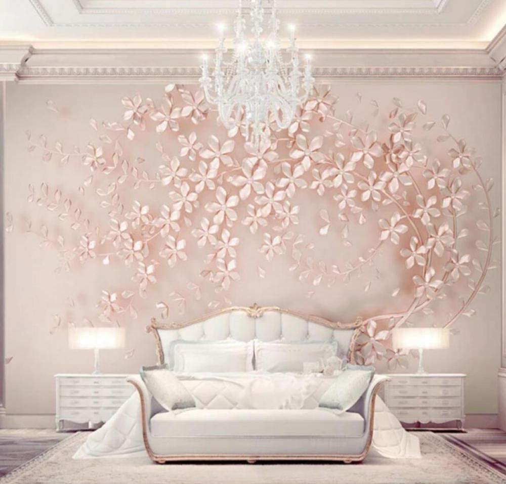 3D Gold Rose Flower Printed Mural Size Outlet sale feature Large Wal Wallpaper Photo Max 65% OFF