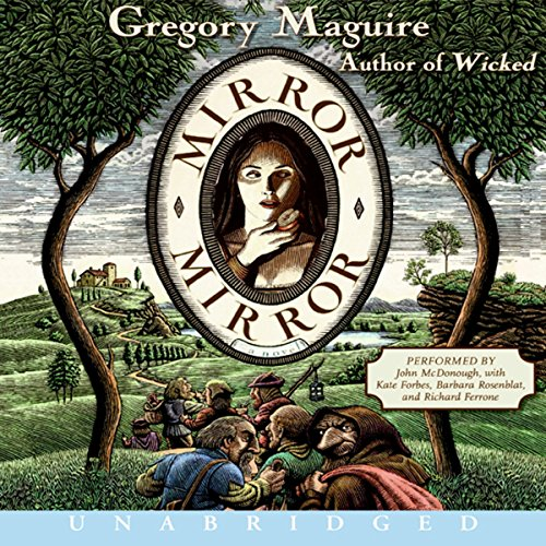Mirror Mirror audiobook cover art