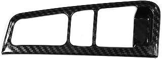 ZRNG Stripe Left Hand Brake Trim Cover Decoration Sticker Fit For Toyota Alphard VELLFIRE 2015-2018 Carbon Fiber Car Styli...