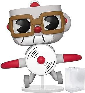 Funko Pop! Games: Cuphead - Cuphead in Aeroplane Vinyl Figure (Includes Pop Box Protector Case)