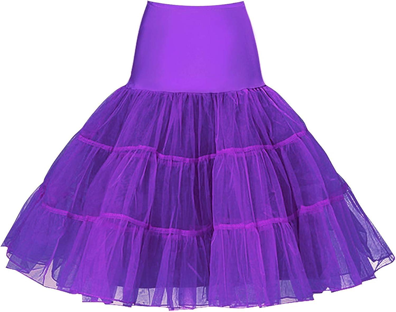 KILLREAL Women's 50s Vintage Underskirt Tutu Cheap SALE Start Slips Store Petticoat