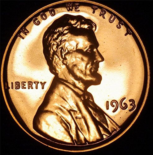 1963 Lincoln Memorial Penny Cent Gem Proof US Mint