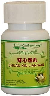 Ever Spring Chuan Xin Lian Wan Traditional Herbal Formula Pills / N030