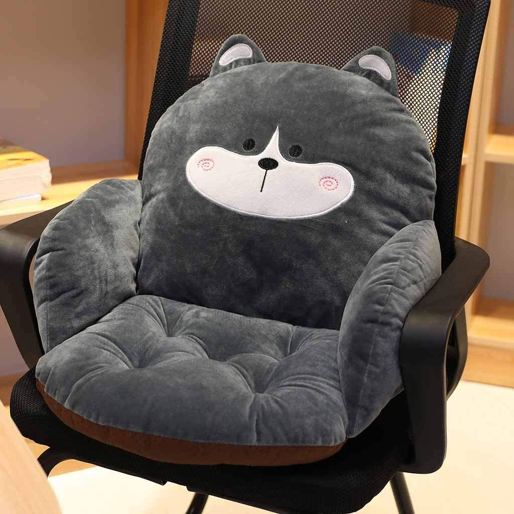 Luonita 激安 激安特価 送料無料 Chair Cushion Semi-Enclosed Desk Seat Back 情熱セール ,A Cushions