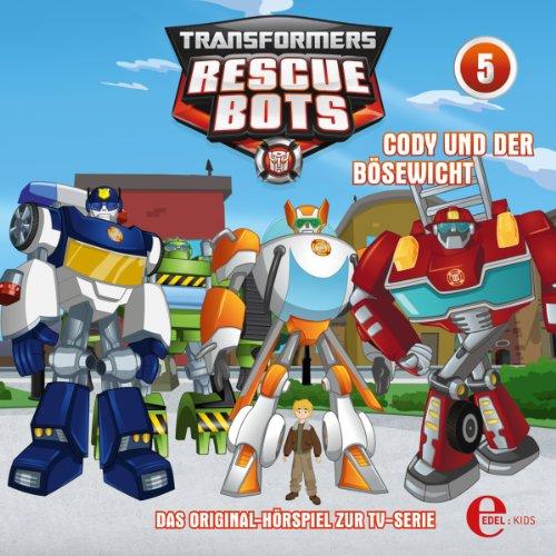 Cody und der Bösewicht     Transformers Rescue Bots 5              Autor:                                                                                                                                 Thomas Karallus                               Sprecher:                                                                                                                                 Robert Missler,                                                                                        Bernhard Vögler,                                                                                        Gerald Paradies,                   und andere                 Spieldauer: 38 Min.     Noch nicht bewertet     Gesamt 0,0