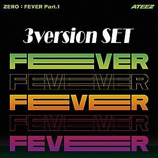 ATEEZ Album - Zero : Fever Part.1 (Set VER.) 3Album + 3Folded Poster