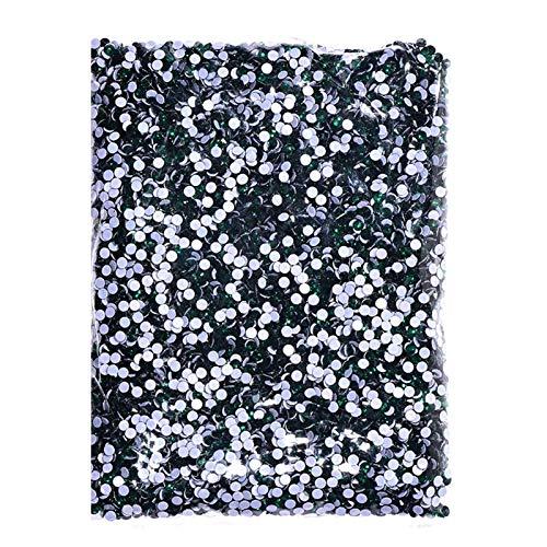 CHUNMA 14400 unids/Bolsa a Granel 41 Colores al por Mayor Mejor hotfix Rhinestones Crystal Hot Fix Rhinestone (Color : 20, Size : SS6 14400pcs)