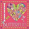 I Heart Butterflies (I Heart Pocket Colouring)