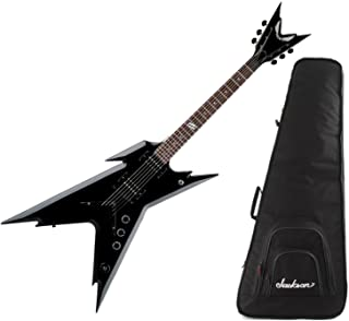 Dean Dimebag Razorback DB Electric Guitar Classic Black w/ Gig Bag