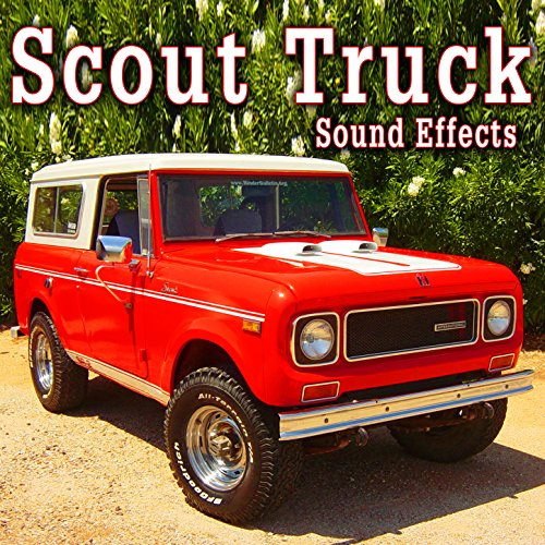 Scout Truck Driving with Little Engine Noise, Wind Whips and Car Rattles, From Interior Perspective Take 2