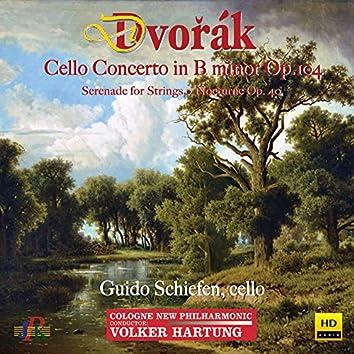 Dvořák: Cello Concerto, Serenade for Strings & Nocturne in B Major