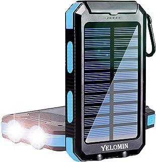 Solar Power Bank,Yelomin 20000mAh Portable Outdoor Mobile...